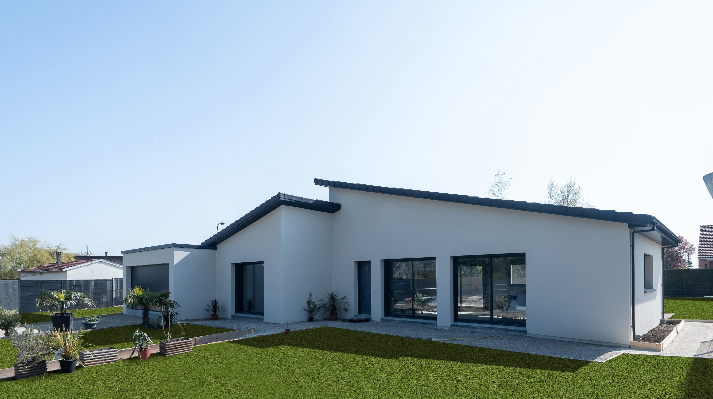 Maison Toit De France la tuile ultima tfp ardoisé, pour une toiture moderne en